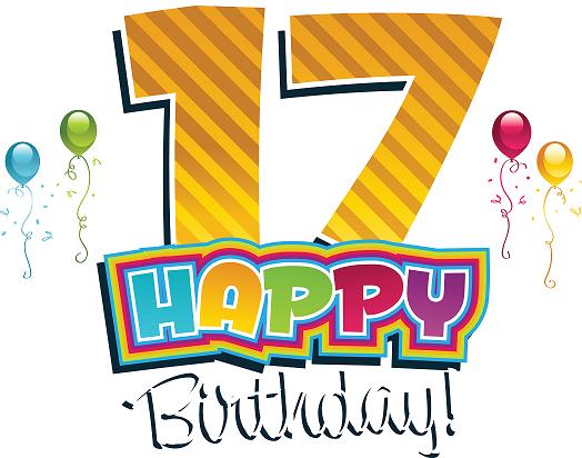 Поздравления с днё рождения 17 лет